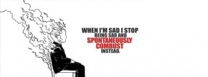 Sad Funny Quote Facebook Cover