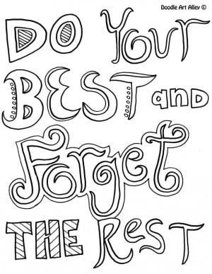 inspirational quotes coloring pages - Quoteko.