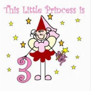Happy 3rd Birthday Girl Today is cara's 3rd birthday