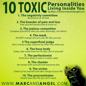 Toxic personalities....my husband's ex wife and her mother and sister ...