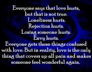hurt, love, quotes