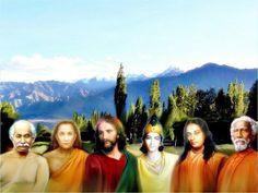 Lahiri mahasaya, Mahavatar Babaji, jesus, Krishna, Paramahansa ...