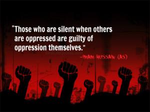 imam hussain quotes on oppression home hazrat imam hussain quotes ...