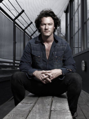 Luke Evans..I uh..I totally love you..