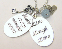 Graduation Gift for Her Inspiration al Jewelry Poetry Book Necklace ...