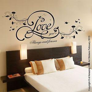 Love-You-Always-Quote-Anniversary-Wedding-Gift-Wall-Art-Vinyl-Sticker ...