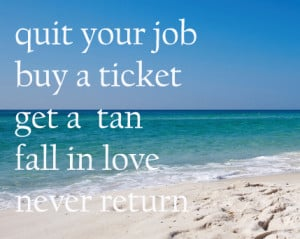 Beach with Quotes
