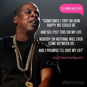 Love quotes from rap songs: 2. Jay Z