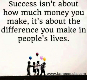 Life Quotes People Make Difference