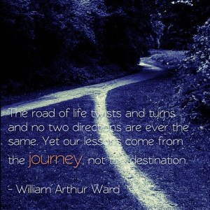 The road of life twists and turns and no two directions are ever the ...