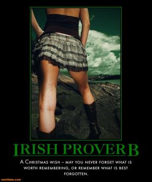 irish-proverb-lass-proverbs-poster-christmas-cubby-demotivational ...