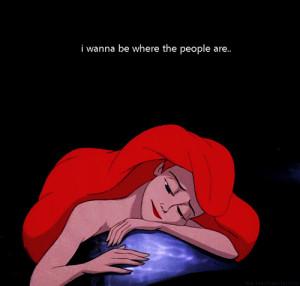 Ariel beautiful cute little mermaid lovely gif