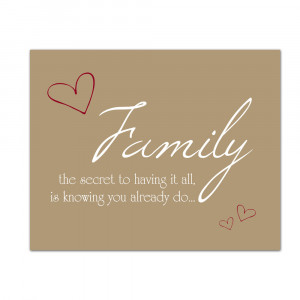 Inspirational Quotes About Family Love