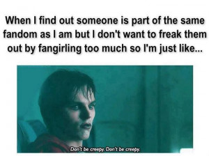 Fangirling problems :L