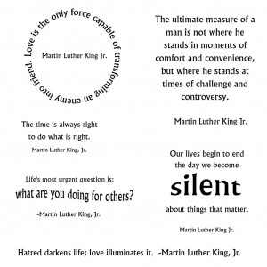 Wrist Cutting Quotes Martin luther king jr. quote