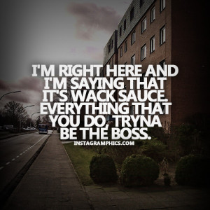 Trynna Be The Boss Young Jeezy Quote Graphic