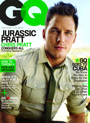 Chris Pratt in GQ Magazine June 2015 | Pictures and Quotes