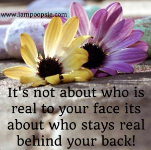 Being Real Quotes And Sayings
