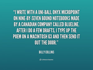Quotes by Billy Collins