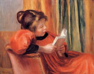 Girl Reading — Pierre-Auguste Renoir