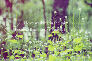 love walking in the rain by beautifulinsideyou