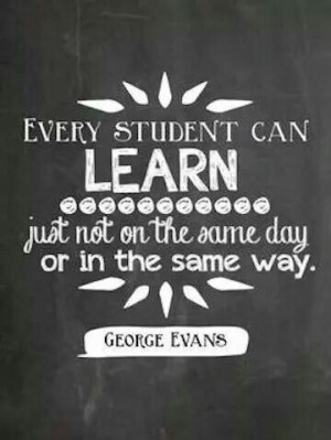 Every student can learn...