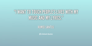 Go Back > Gallery For > Romeo Santos Quotes