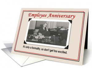EMPLOYEE ANNIVERSARY CARD SAYINGS