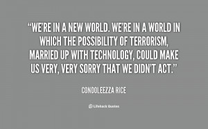 Condoleezza Rice Quotes On Life