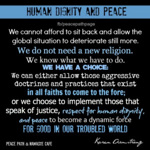 Human Dignity and Peace