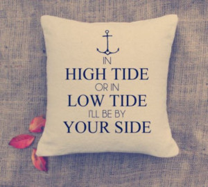 home accessory love quotes pillow valentines day anchor quote on it ...