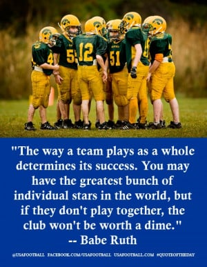 From the mouth of Babe ... a few words on teamwork....Wow! This is ...