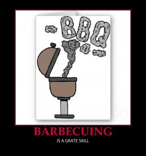 funny barbecue rules and pictures