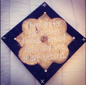 Phi Mu Graduation Cap! LOVE this quote!