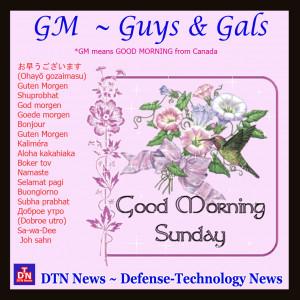 Good Sunday Morning Quotes Good morning sunday