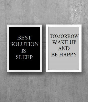 Best solution is sleep...