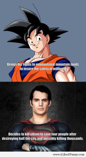 Funny Superman Sayings Funny-goku-superman-saving