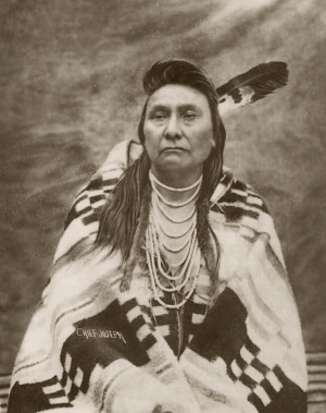 Nez Perce Chief Joseph, one of the most famous tribal leaders in ...