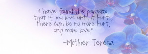 Mother Teresa Quotes Cover - Facebook timeline covers maker