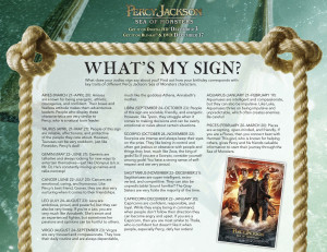Percy Jackson, Sea of Monsters: Fun Activities for the Kids # ...