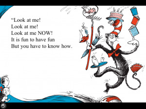 Cat In The Hat Book Pages