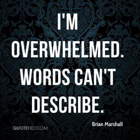 Overwhelmed Quotes More brian marshall quotes