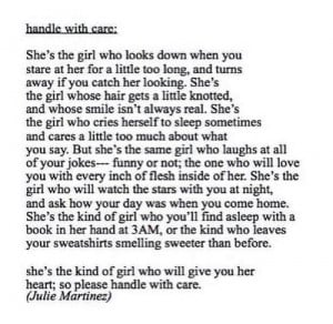 Shes the kind of girl