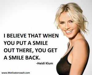 heidi klum quotes i wanted to be a fashion designer heidi klum