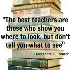The best teachers.