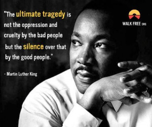 Silence is compliance. Whether racial , inequalities exist within ...