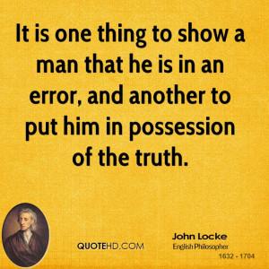 John Locke Quotes