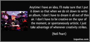 More Neil Peart Quotes