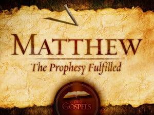 Fulfillment Formulae In Matthew's Gospel