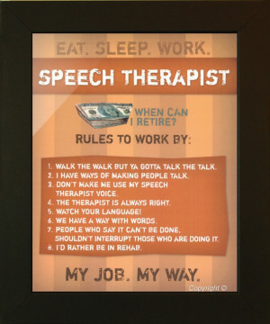 Speech Therapy Quotes Funny